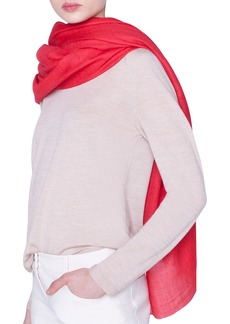 Akris Solid Cashmere Scarf