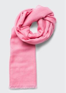 Akris Solid Cashmere-Silk Scarf