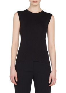 Akris Stretch Silk Sweater (Nordstrom Exclusive)