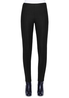 Akris Stretch Wool Slim-Leg Pants