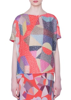 Akris Summer Sequined Tunic