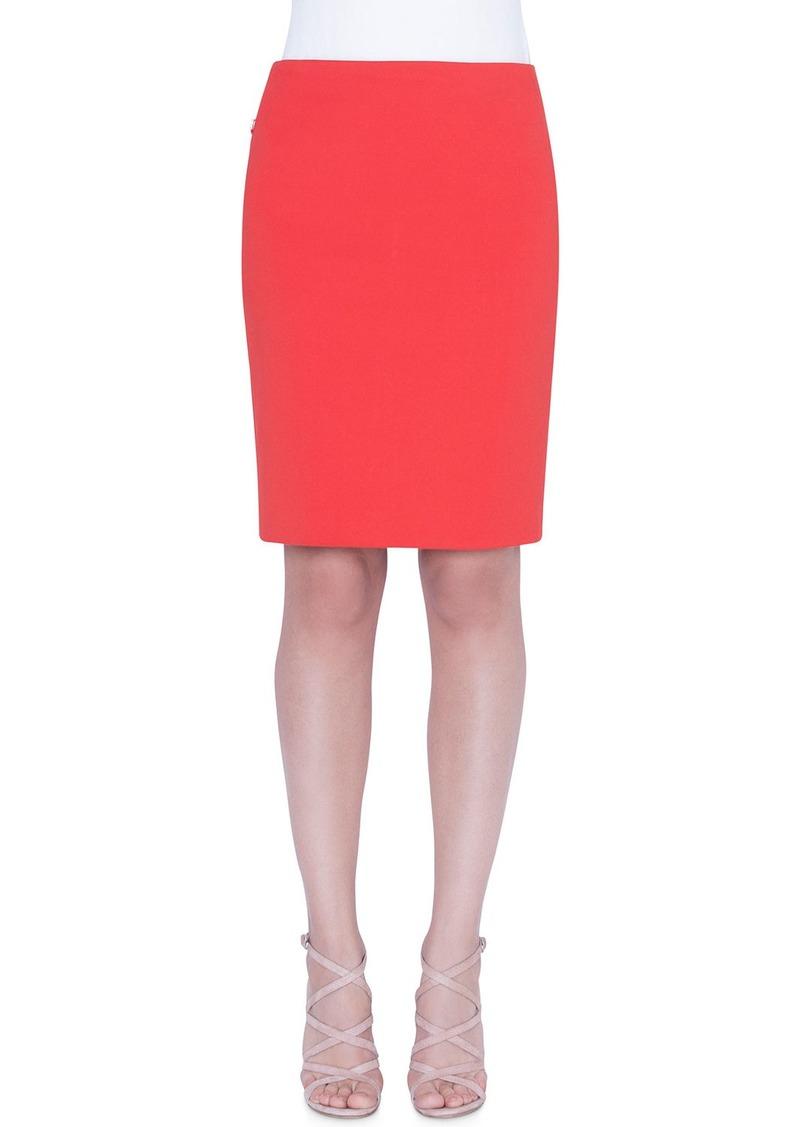 Akris Techno Fabric Skirt