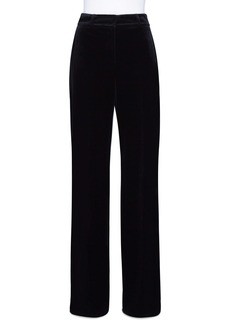 Akris Techno Velvet Wide Leg Pants