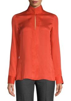 Akris Textured Button-Down Shirt