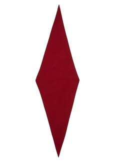 Akris Trapezoid Cashmere & Silk Scarf