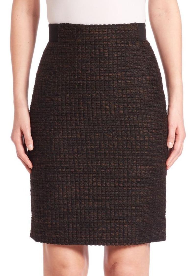 Akris Tweed Skirt