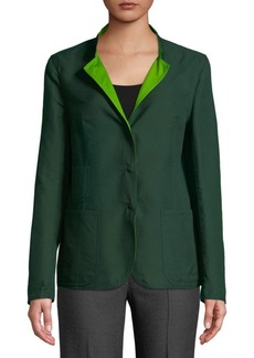 Akris Two-Tone Reversible Jacket