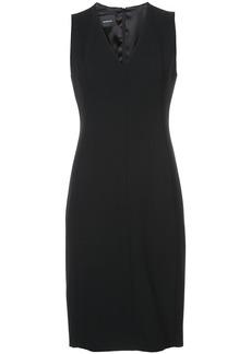 Akris v-neck dress - Black