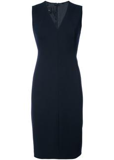 Akris v-neck dress - Blue