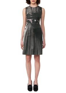 Akris Vivian Camera-Print A-Line Dress