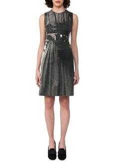 Akris Vivian Camera-Print A-Line Dress