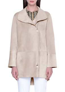 Akris Waterproof Suede Jacket