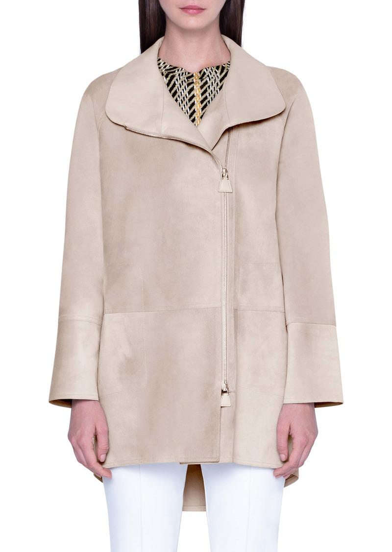 Akris Waterproof Suede Jacket