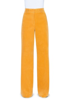 Akris Wide-Leg Corduroy Pants