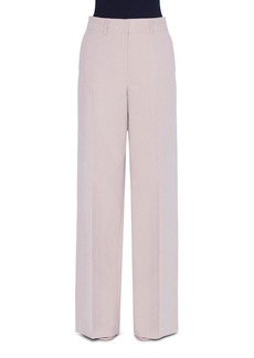 Akris Wide-Leg Cotton Pants