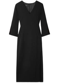 Akris Woman Wool-blend Crepe Dress Black