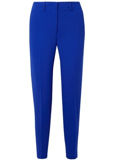 Akris Woman Wool-blend Tapered Pants Royal Blue