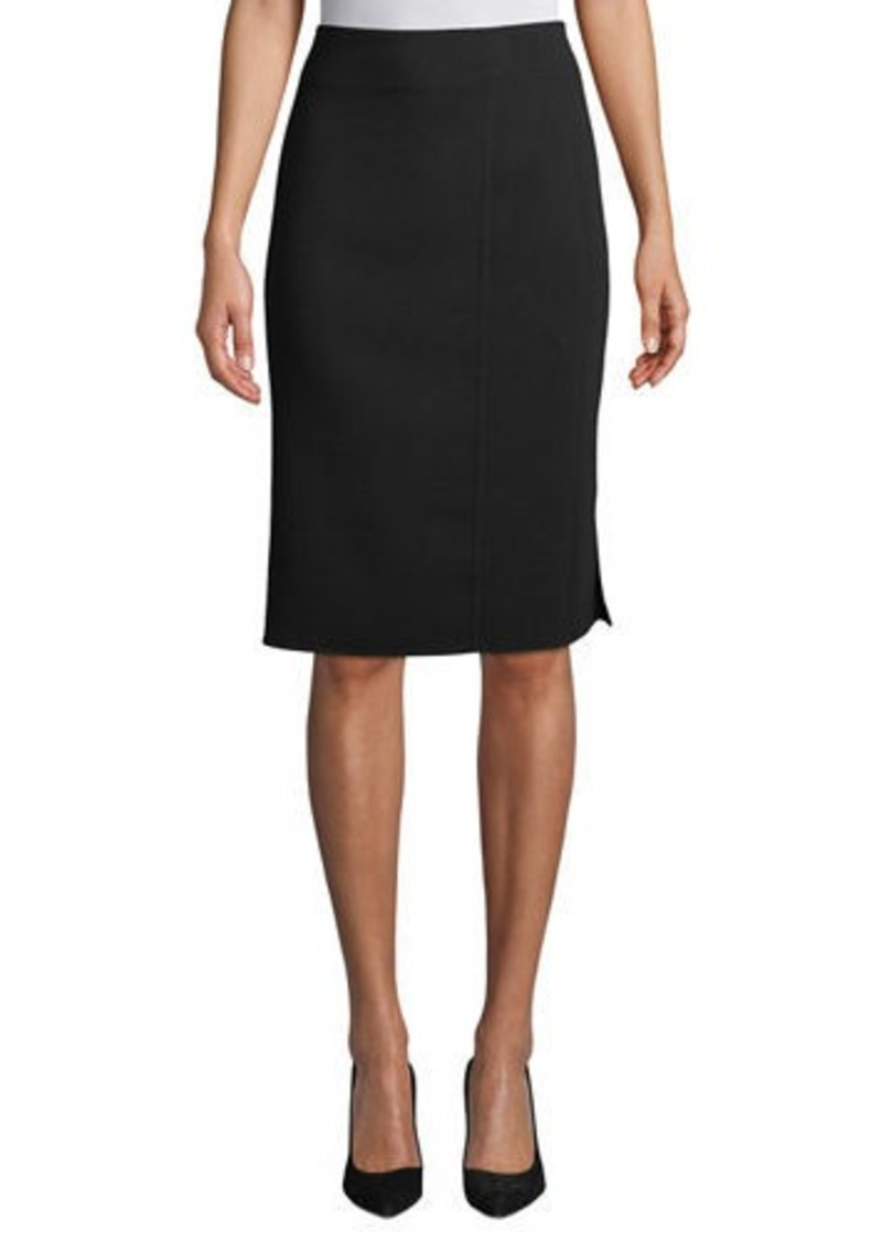 Akris Wool-Blend Knee-Length Pencil Skirt