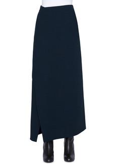 Akris Wool Wrapped Midi Skirt