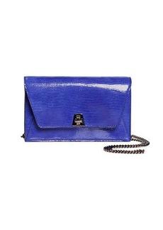 Akris Anouk Mini Envelope Lizard Crossbody Bag