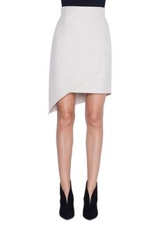 Akris Asymmetric Front-Panel Skirt