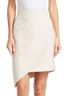 Akris Asymmetric Front Panel Skirt