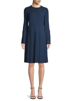 Akris Basketweave Silk dress
