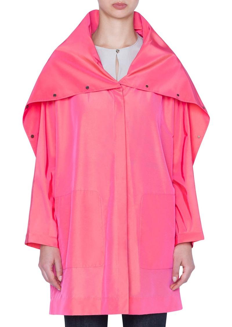 Akris Bella Taffeta Coat