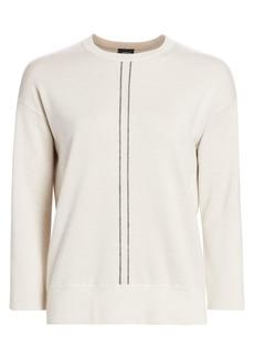 Akris Cashmere & Silk Crewneck Sweater