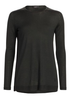 Akris Cashmere & Silk Knit Tunic