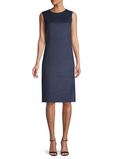 Akris Cashmere Sheath Dress