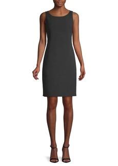Akris Classic Sleeveless Sheath Dress