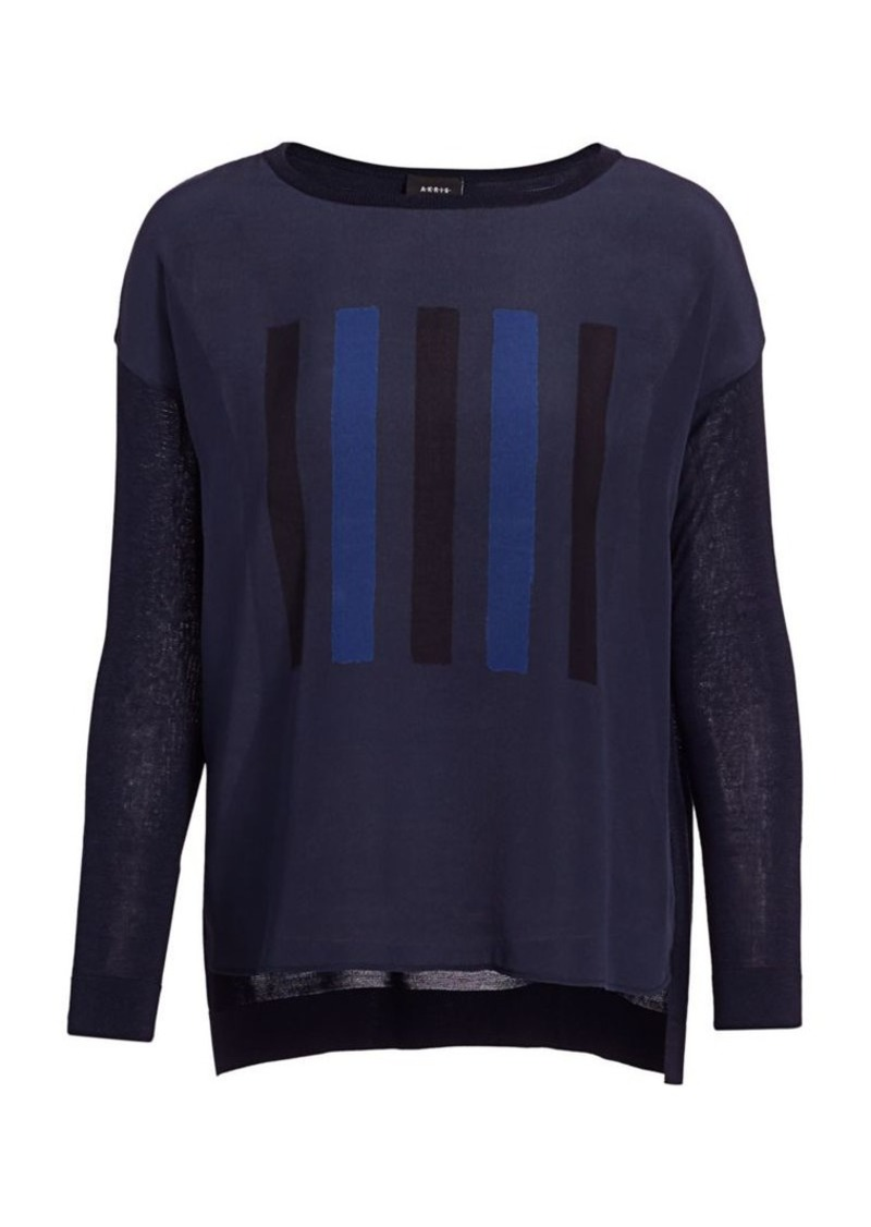 Akris Constellazione Crew Sweater