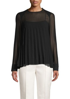 Akris Crease Illusion Blouse