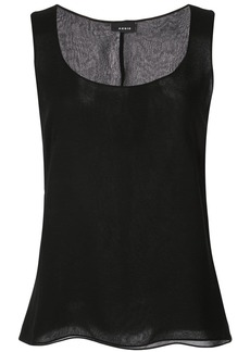 Akris crepe tank top