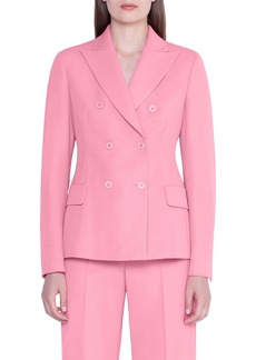 Akris Double-Breasted Wool Jacket
