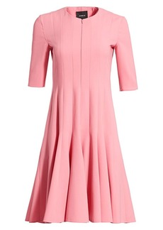 Akris Double Face Wool Dress