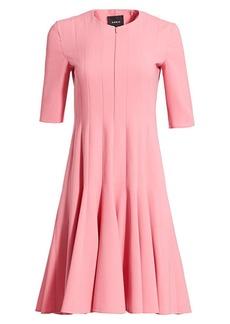 Akris Double Face Wool Dress