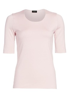 Akris Elbow-Sleeve Tee