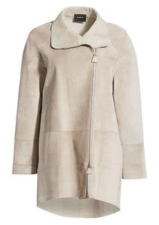 Akris Fairy Suede Waterproof Coat