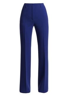 Akris Farrah Wool Wide Leg Trousers