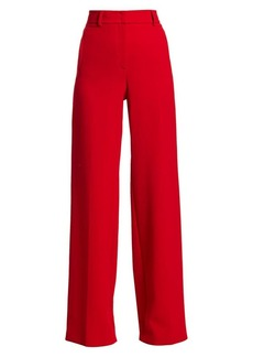 Akris Flore Wide-Leg Pants