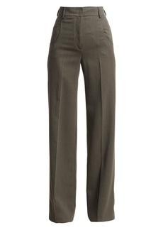 Akris Floyd Wool Wide-Leg Pants