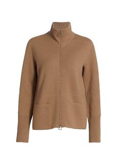 Akris Full-Zip Cashmere Sweater