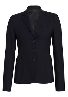 Akris Galilea Stretch-Wool Jacket