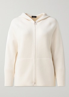 Akris Hooded Cashmere Cardigan