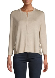 Akris Knit Silk-Blend Cardigan
