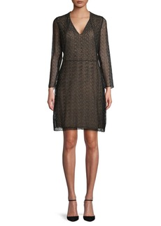 Akris Lace A-Line Dress