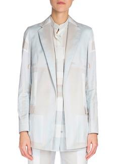 Akris Long-Sleeve Slim-Fit Jacket
