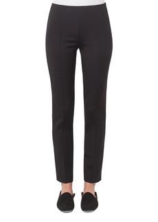 Akris Melissa Techno Cotton Pants  Black